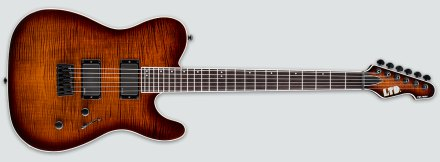 TE-401FM Dark Brown Sunburst