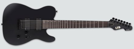 LTD TE-417 Black Satin