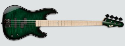 LTD MM-4FM Dark See Thru Green Sunburst