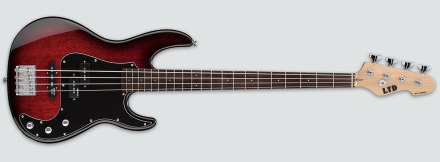 LTD AP-204 Burgundy Burst