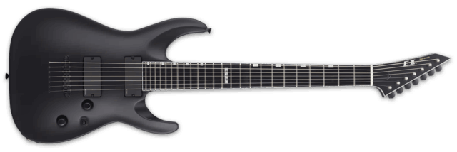 E-II HORIZON NT 7B Black Satin
