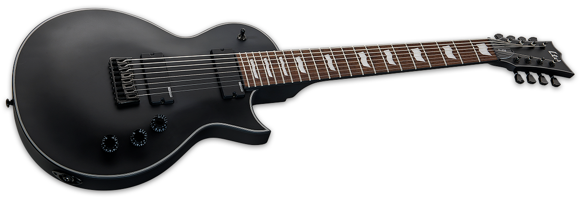 LTD EC-258 Black Satin