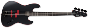 LTD FB-J4 BLACK SATIN